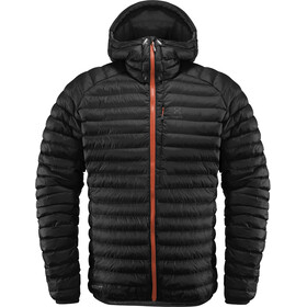 Haglöfs Essens Mimic Hooded Jacket Men Magnetite/True Black
